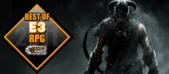 E3 2011 Best RPG The Elder Scrolls V Skyrim