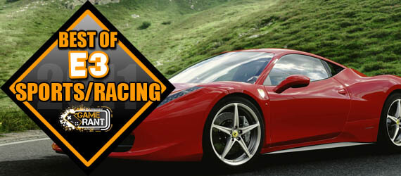 E3 2011 Best Racing Game Forza 4