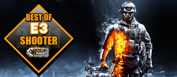 E3 2011 Best Shooter Battlefield 3