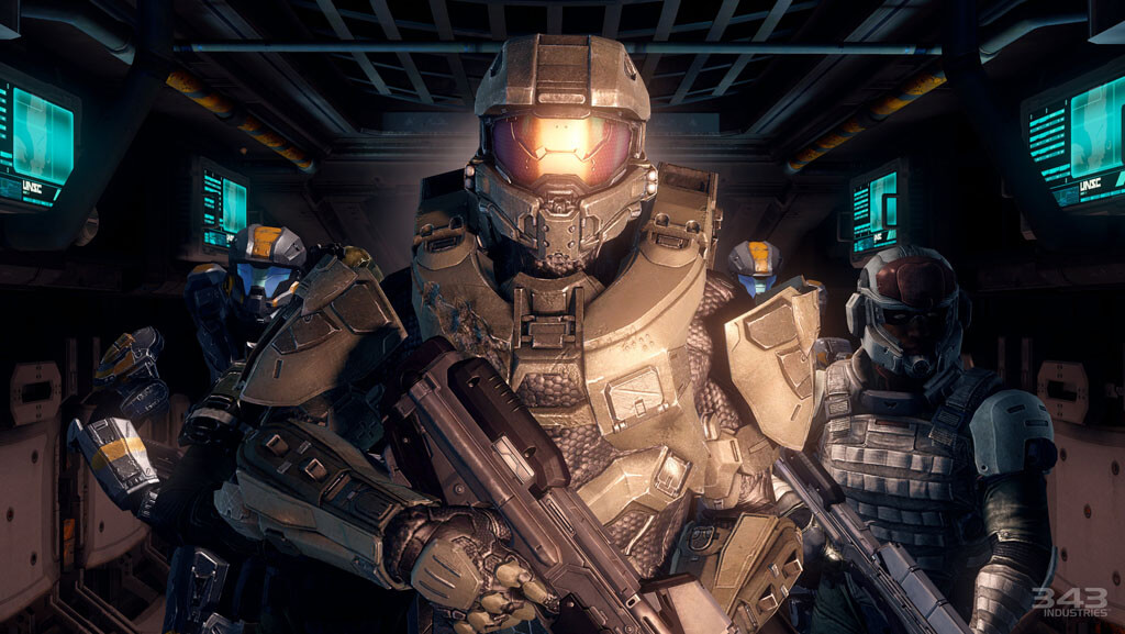 'Halo 4' Spartan Ops Preview & New Screenshots