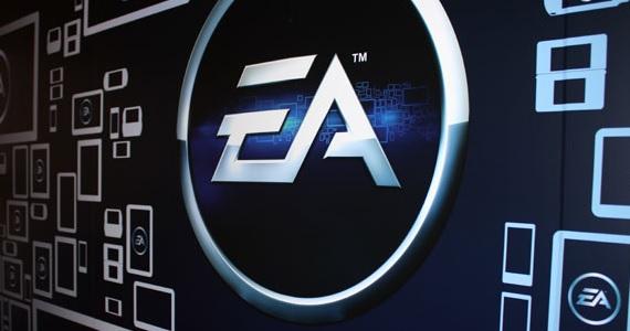 EA logo at ES 2012