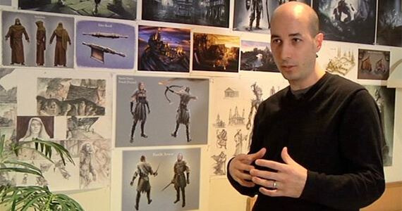 Skyrim's Lead Artist Talks 'Dawnguard'