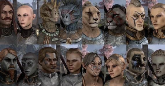 Elder Scrolls Online (Character Creation)