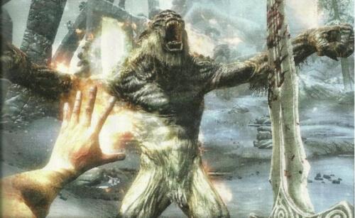 Elder Scrolls Skyrim Combat Scan Game Informer