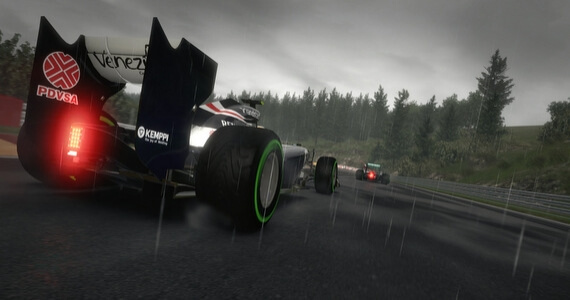 F1 2012 Weather Effects