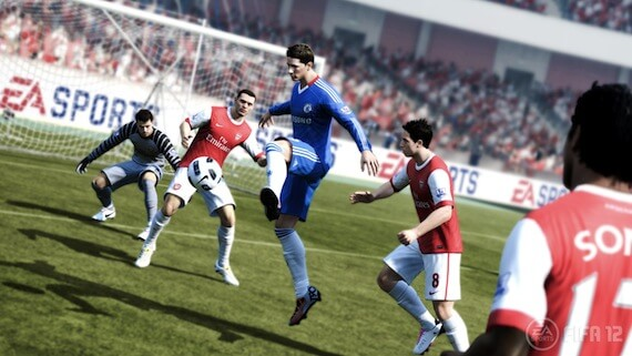 FIFA 12 Review - Animations