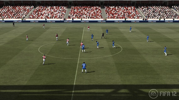FIFA 12 Review - Field Gameplay