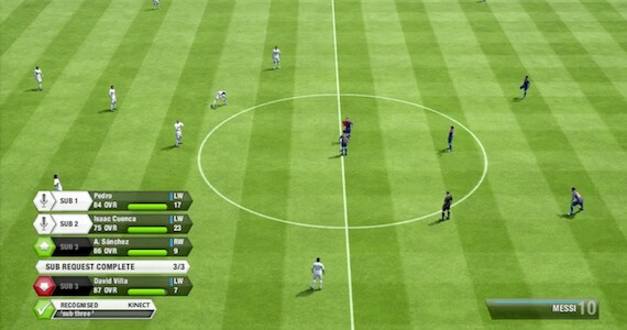 FIFA 13 (Kinect Features)