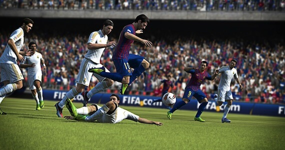 FIFA 13 Review - First Touch Mechanic