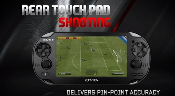 FIFA Soccer Review - Rear Touch Shooting