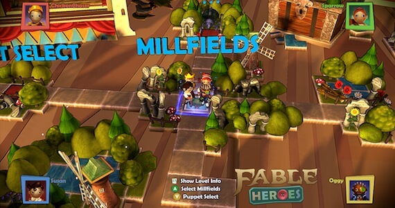 Fable Heroes Review - Level Selection