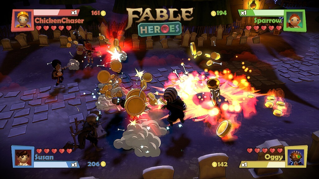'Fable: Heroes' Screenshots and Trailer; Downloadable Kid-Friendly Title
