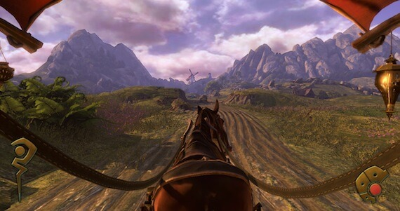 Fable The Journey E3 Preview - Buggy Screen