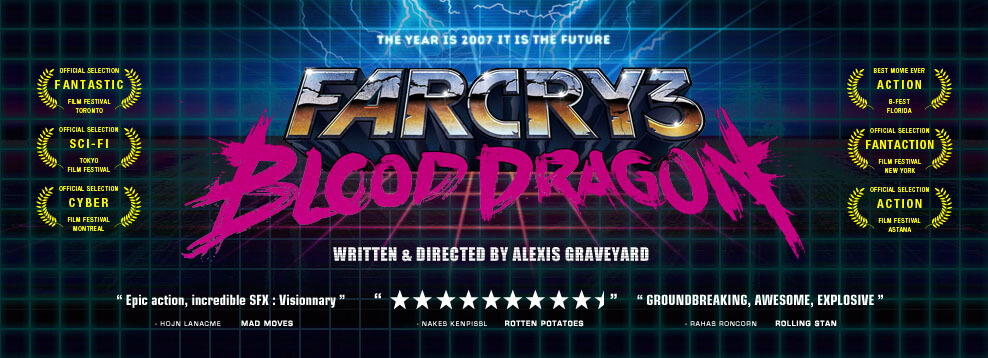 'Far Cry 3: Blood Dragon' is Out of Control