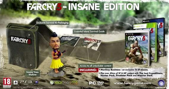 Far Cry 3 Collectors Edition