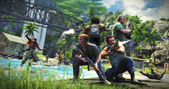 Far Cry 3 4-Player Co-Op PS3 DLC