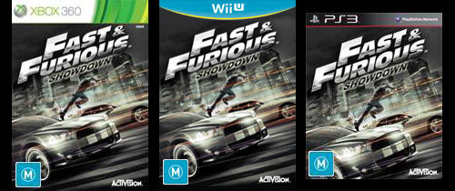 Fast and Furious Showdown Covers