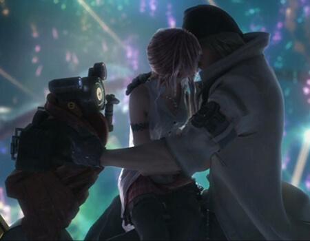 Final Fantasy Snow Kiss Small