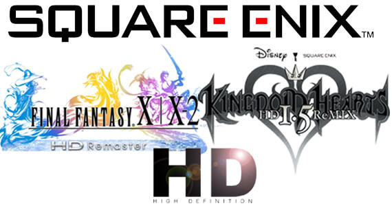 Final Fantasy X X2 Kingdom Hearts HD Square Enix PS3 Vita