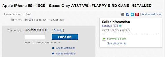 Flappy Bird Phones On Sale