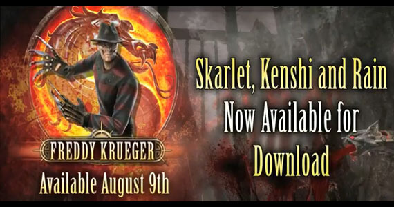 Freddy Krueger Mortal Kombat DLC Release Date
