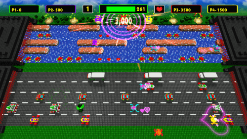 Frogger Hyper Arcade Edition 8-bit Konami