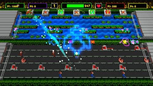 Frogger Hyper Arcade Edition Contra Konami