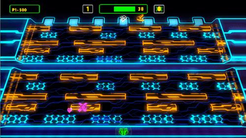 Frogger Hyper Arcade Edition Neon Konami