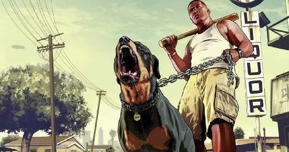 GTA 5 - Chop the Dog