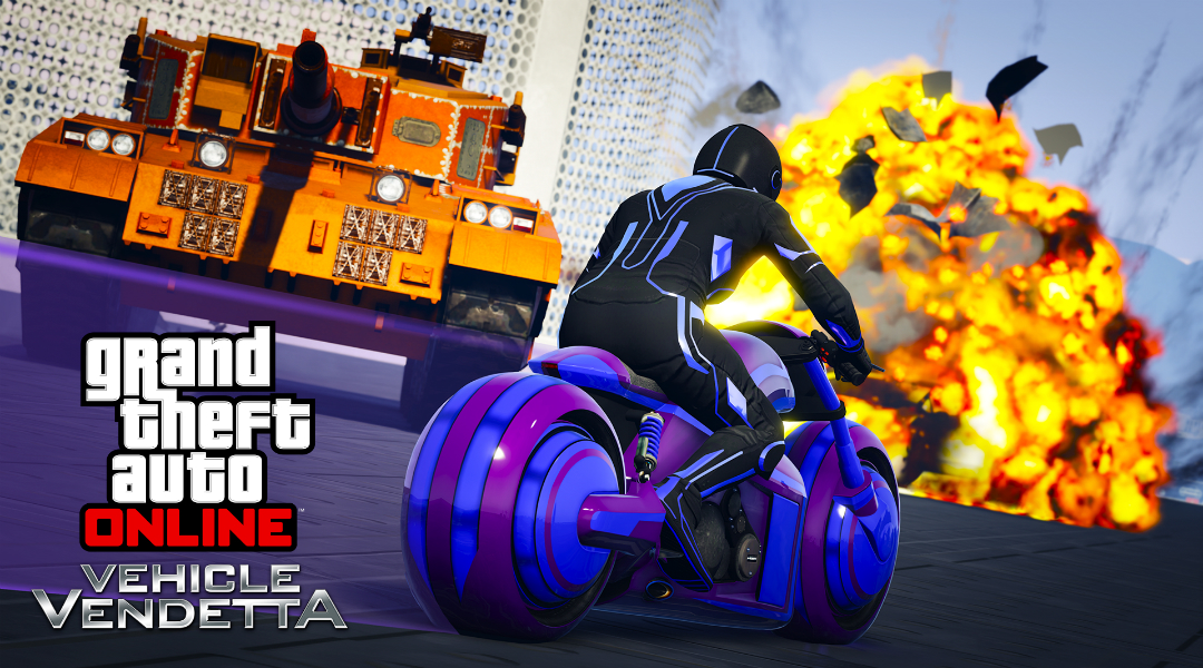 Grand Theft Auto Online Gets New Bike and Game Mode Today
