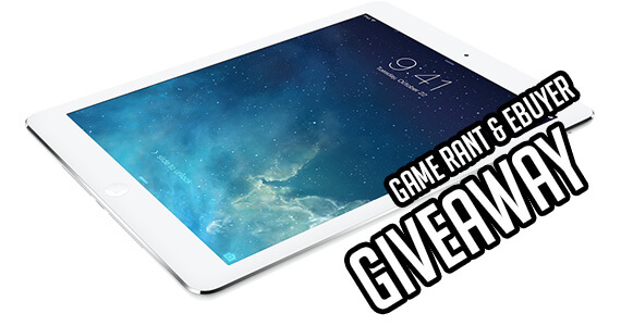 Game Rant Contest iPad Air Giveaway