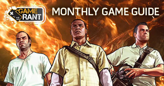 Game Rant Monthly Game Guide September 2013