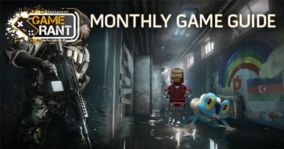 Game Rant October Game Guide