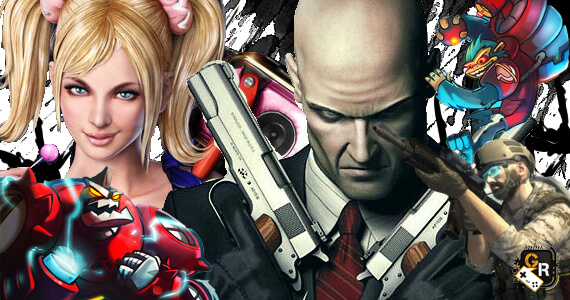 Game Rant Video Game Trailer Roundup Hitman Absolution Lollipop Chainsaw Awesomenauts Ghost Recon