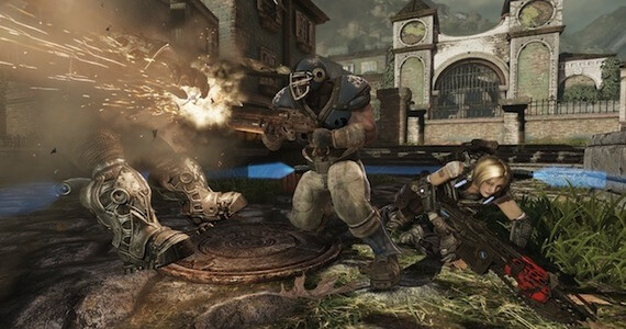 'Gears of War 3' Retro Lancer Pre-Order Bundles