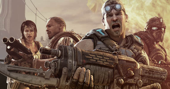 Gears of War 3 Review - Delta Squad