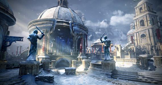 Gears of War Judgment Haven Map Screenshots
