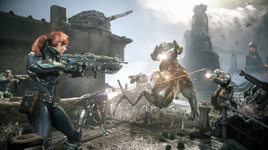 Check out the New Island Map in 'Gears of War: Judgment'