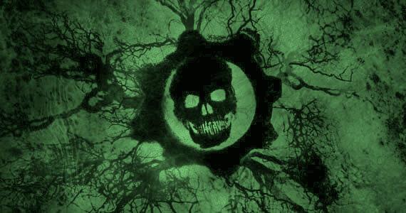 Gears of War Logo Green