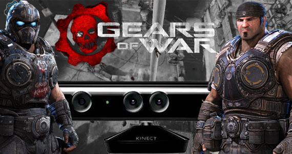 Gears of War Kinect Screenshots