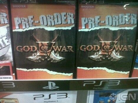 God of War 4 Preorder