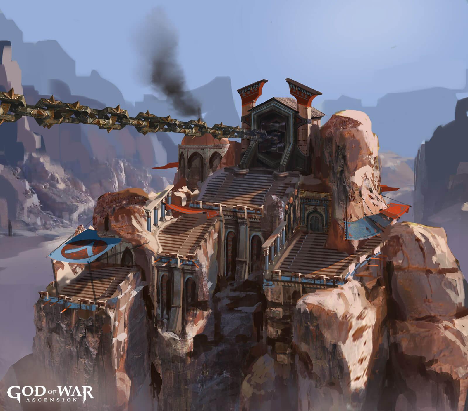 Concept Art Blowout: 'God of War: Ascension,' 'Dark Souls 2' & 'Far Cry 3'