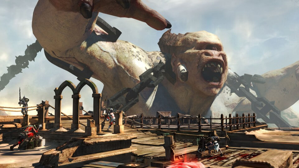 'God of War: Ascension' Gets Epic With Polyphemus Boss Battle