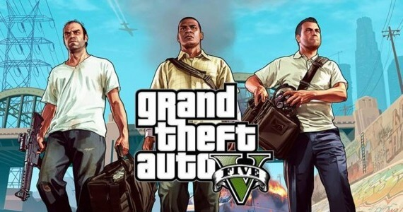 'Grand Theft Auto 5' is This Year's Most Played Game