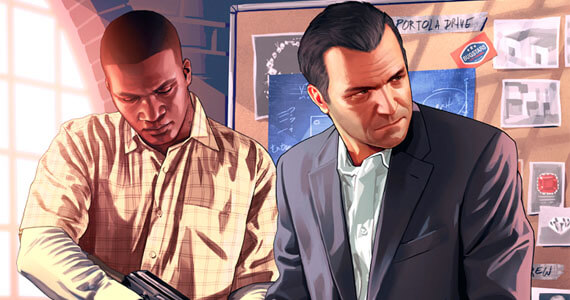 New 'Grand Theft Auto 5' Art Introduces Characters