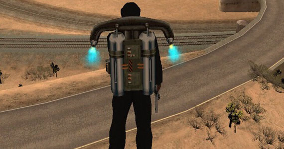 Grand Theft Auto 5 Jet Pack Hint