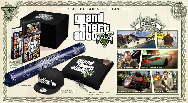 'Grand Theft Auto 5' Special and Limited Editions Priced and Detailed