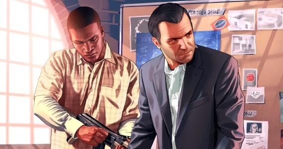 Grand Theft Auto 5 Michael Franklin Heist