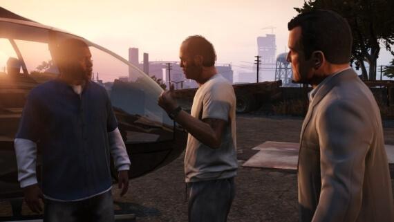 Grand Theft Auto 5 Michael Trevor Franklin