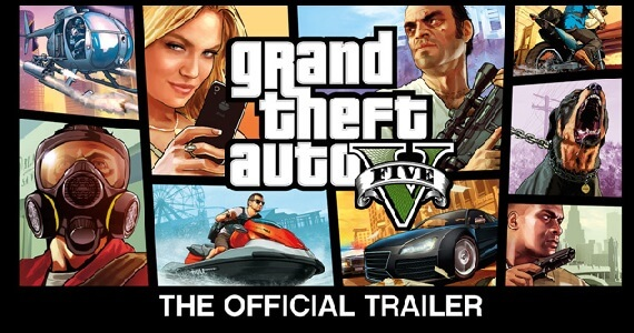Grand Theft Auto 5 Official Trailer